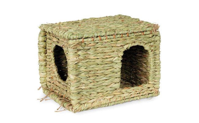 SunGrow Grass House Toy for Rabbit