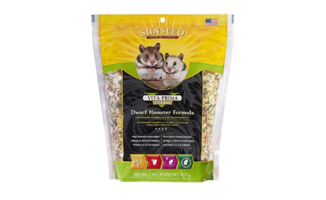 Sunseed Company Vita Prima Hamster Food