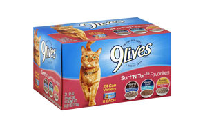 Surf 'N Turf Favorites Cat Food