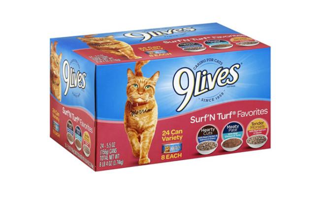 Surf 'N Turf Favorites Cat Food