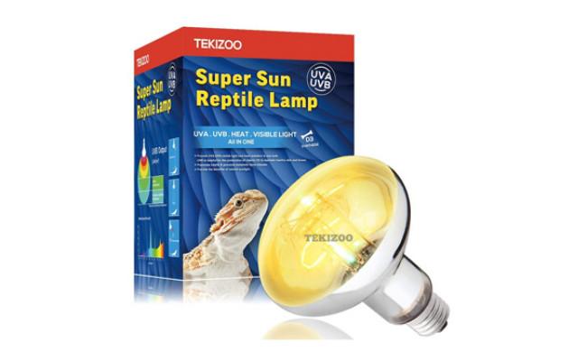 TEKIZOO UVA UVB Sun Lamp High Intensity