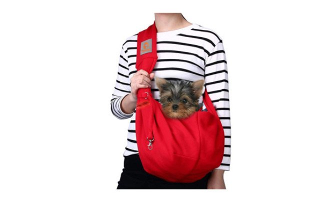 TOMKAS Small Dog Carrier Sling