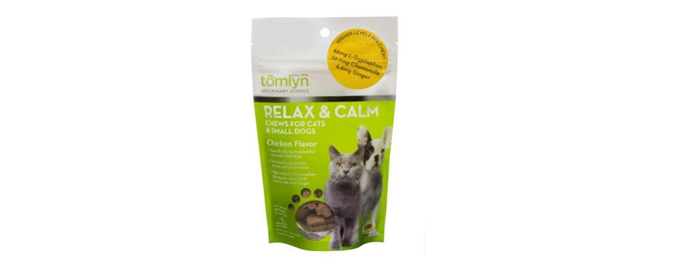 TOMLYN Relax and Calm Chews for Cats
