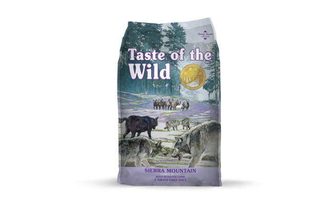 Taste of The Wild Grain Free Food for Shiba Inu
