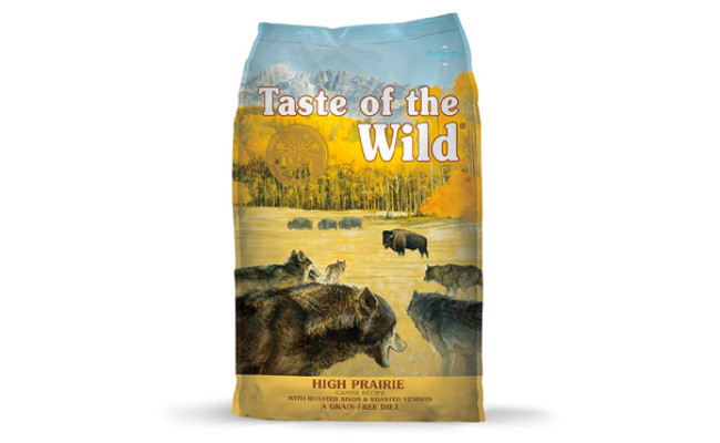 Taste of the Wild Grain Free High Protein Dog Food
