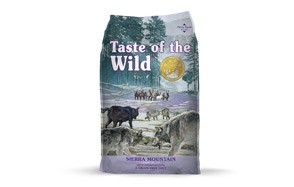 Taste of the Wild Grain Free High Protein Real Dry Dog Food