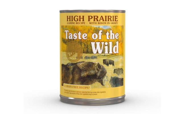 Taste of the Wild High Prairie Wet Canned Dog Food