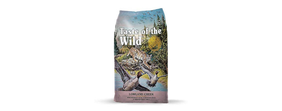 Taste of the Wild High Protein Lowland Creek Cat Food