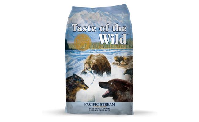 Taste of the Wild Pacific Stream Dog Food for Flatulence
