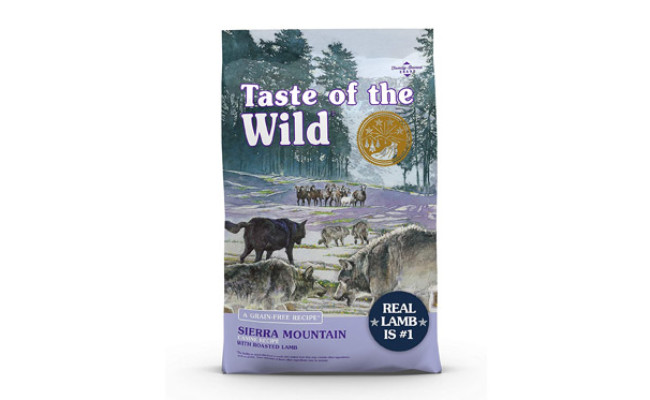 Taste of the Wild With Roasted Lamb Dry Dog Food