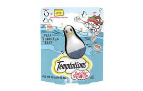 Temptations Snacky Penguin Treat Dispensing Cat Toy