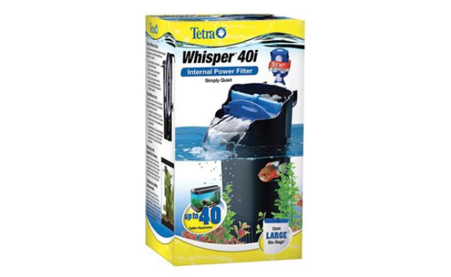 Tetra Whisper Internal Aquarium Power Filter package