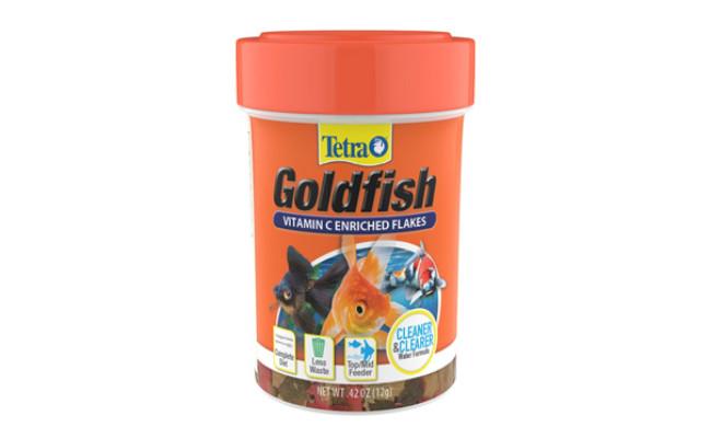 TetraFin Flakes Goldfish Food