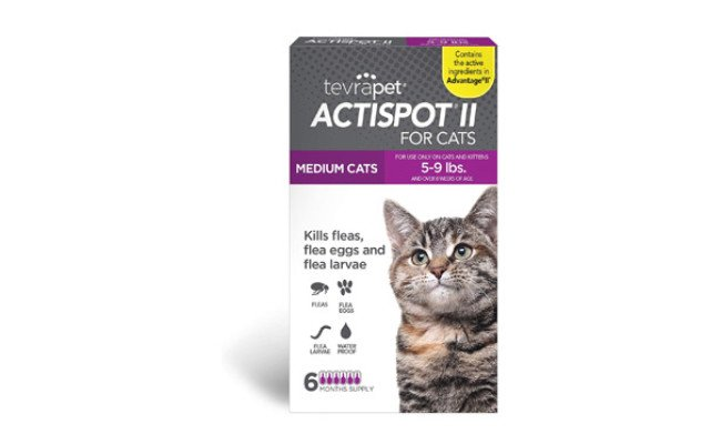 TevraPet Actispot II Flea Prevention for Cats