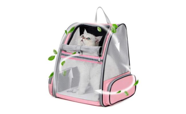 Texsens Pet Backpack Carrier for Small Cats