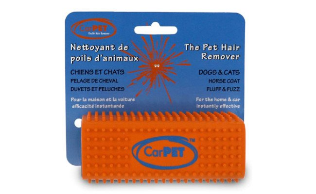 The CarPet Pet Hair Remover with package