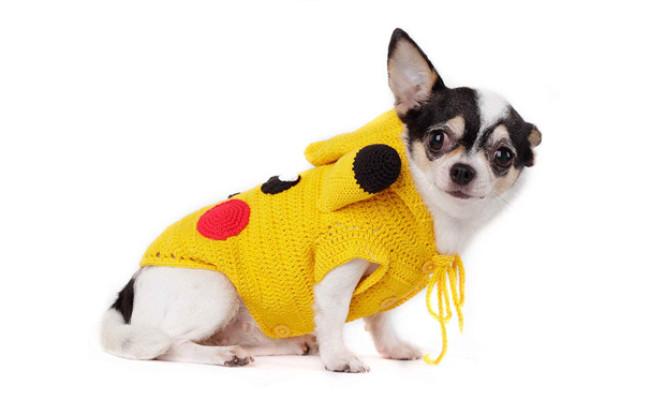 Tonimoz Pokemon Dog Costume