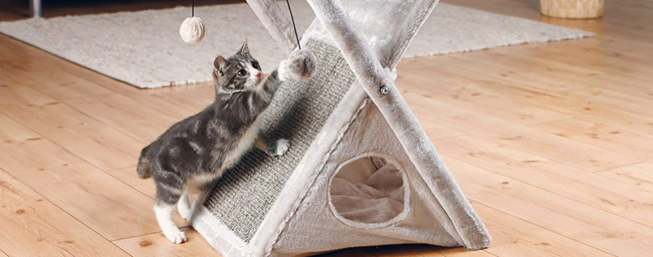 Trixie Cat Hammock and Tower