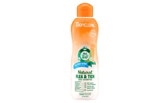 TropiClean Natural Flea and Tick Shampoo
