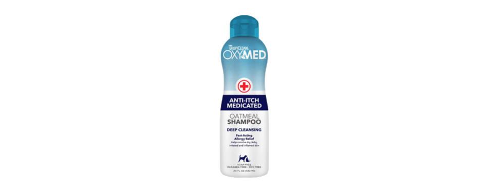 Tropiclean Oxy-Med Oatmeal Shampoo
