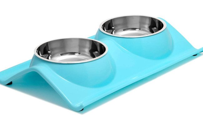 UPSKY Double Cat Bowls