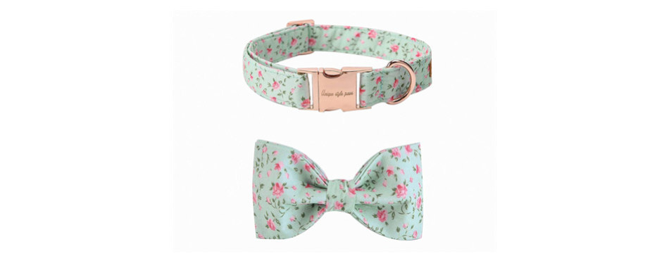 UPS Pet Soft & Comfy Bowtie Cat Collar