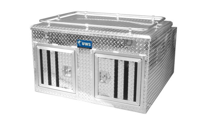 UWS Northern 2-Door Deep Dog Box
