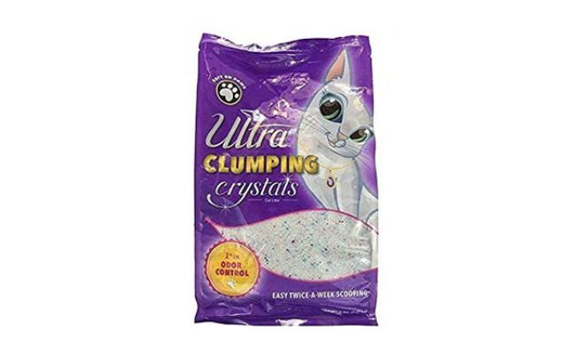 Ultra Pet Clumping Crystal Cat Litter