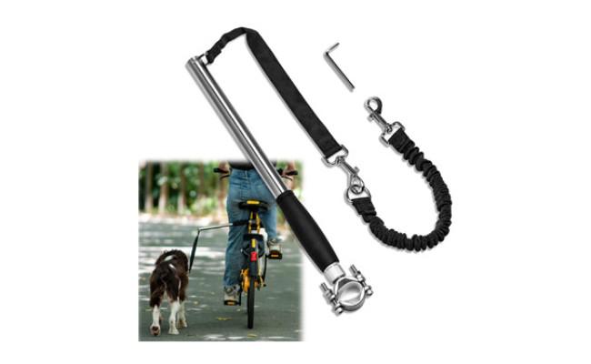 Unicam Retractable Bicycle Dog Leash