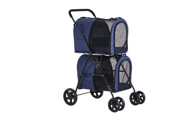 VIAGDO Double Pet Stroller