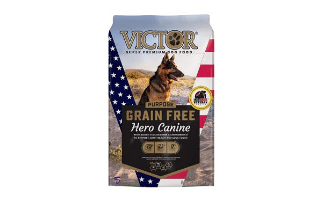 VICTOR Purpose Grain Free Hero Canine Dry Dog Food