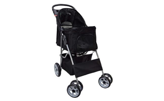 VIVO Four Wheel Dog Stroller