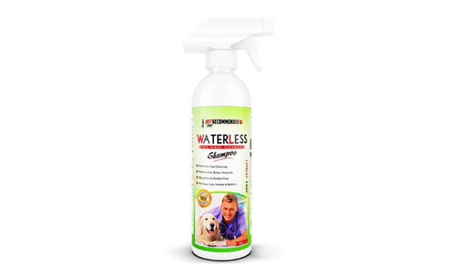 Vet Recommended Dry Dog Shampoo