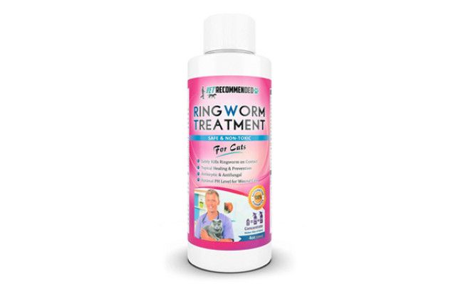 Vet Recommended Ringworm Treatment for Cats