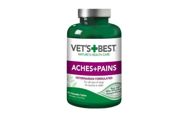 Vet's Best Aches+Pains Chewable Tablets Joint Supplement
