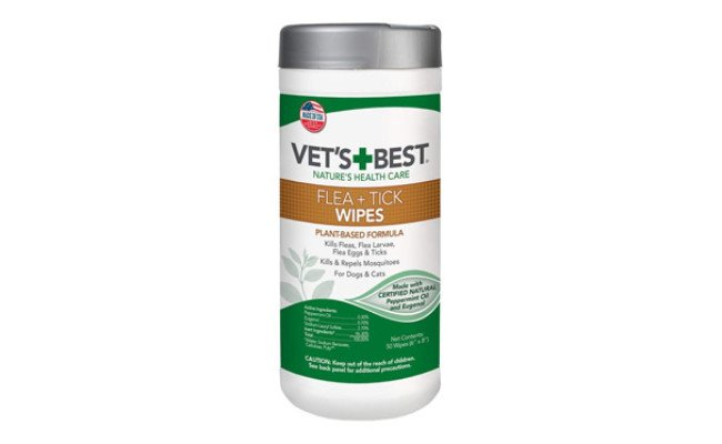 Vet's Best Flea and Tick Wipes for Dog