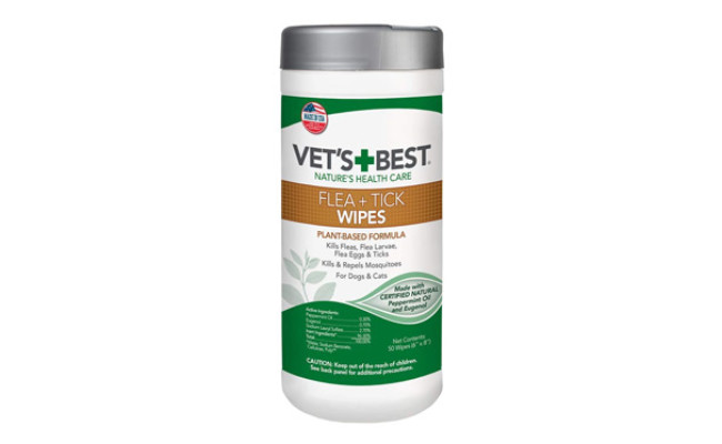 Vet's Best Flea and Tick Wipes for Dogs