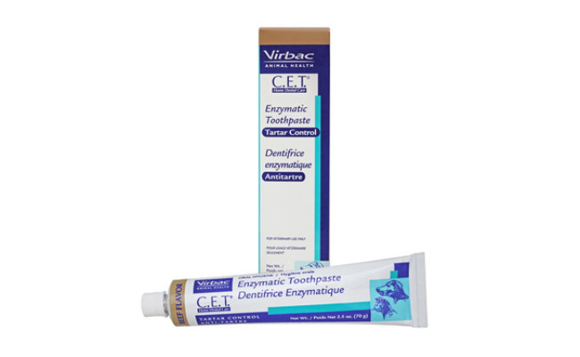 Virbac C.E.T. Enzymatic Toothpaste Beef Flavor