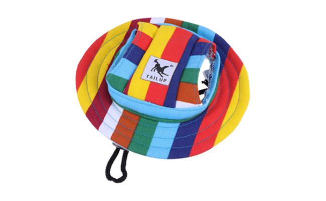 WINOMO Round Brim Dog Cap
