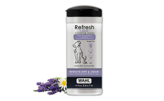 Wahl Dog Cleaning Wipes