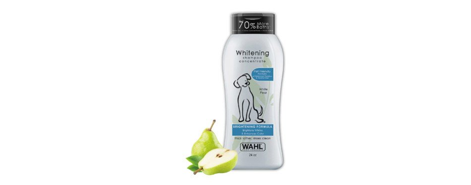 Wahl White Pear Brightening Shampoo for Pets
