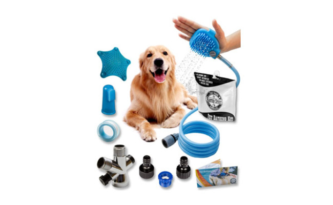 Wantedstuff 3 in 1 Dog Shower Kit