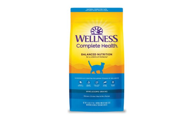 Wellness Complete Health Chicken & Rice Dry Cat Food