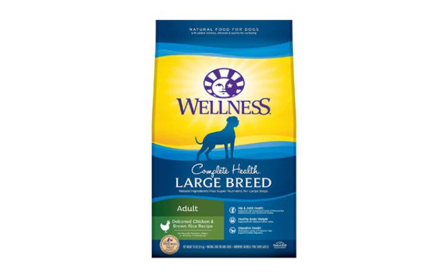Wellness Complete Health Natural Large Breed Dog Food
