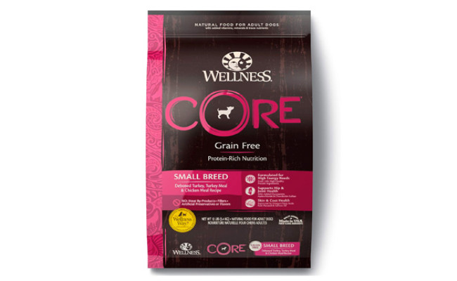 Wellness Core Natural Grain Free Dog Food for Pomeranians