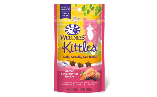 Wellness Kittles Crunchy Natural Grain Free Cat Treats