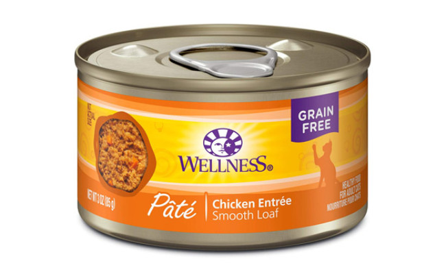Wellness Natural Pet Food Wet Canned Cat Food