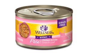 Wellness Natural Pet Food Wet Canned Kitten Food