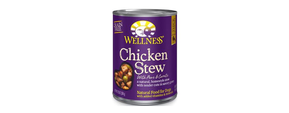 Wellness Wet Grain Free Canned Dog Food