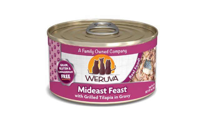 Weruva Natural Canned Wet Cat Food